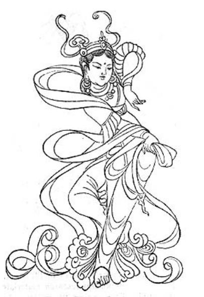Kathak Dance Drawing Classical Dance Siluhuayu